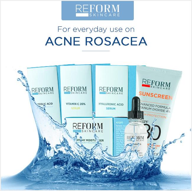 reform skincare acne rosacea