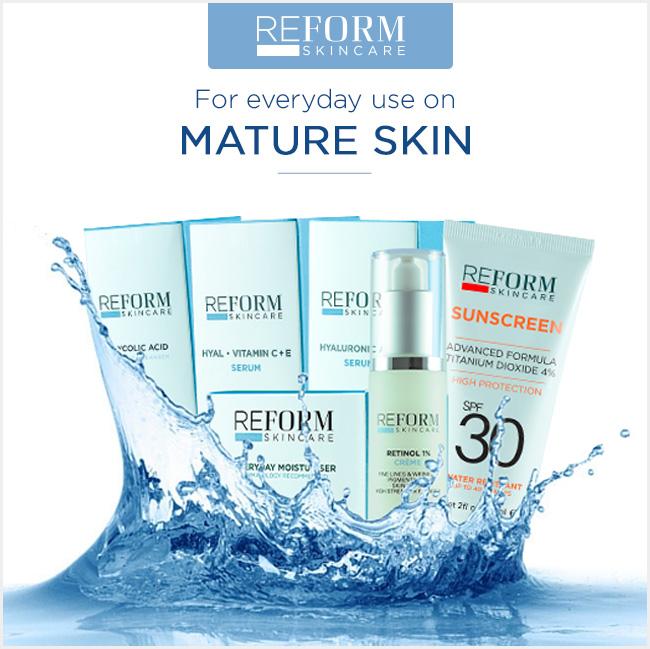 reform skincare mature skin
