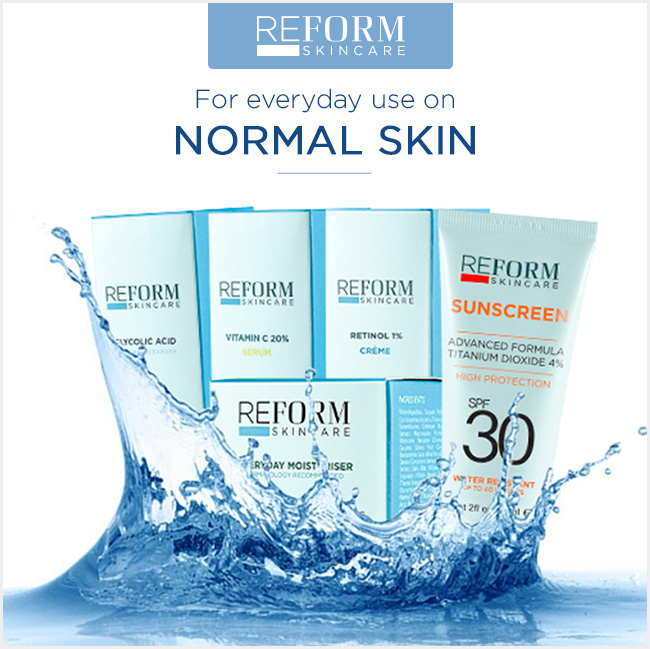 reform skincare normal skin