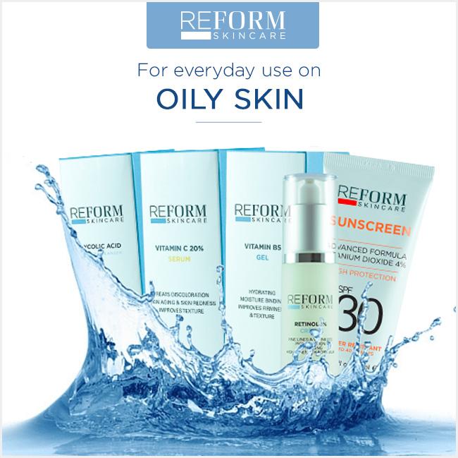 reform skincare oily skin