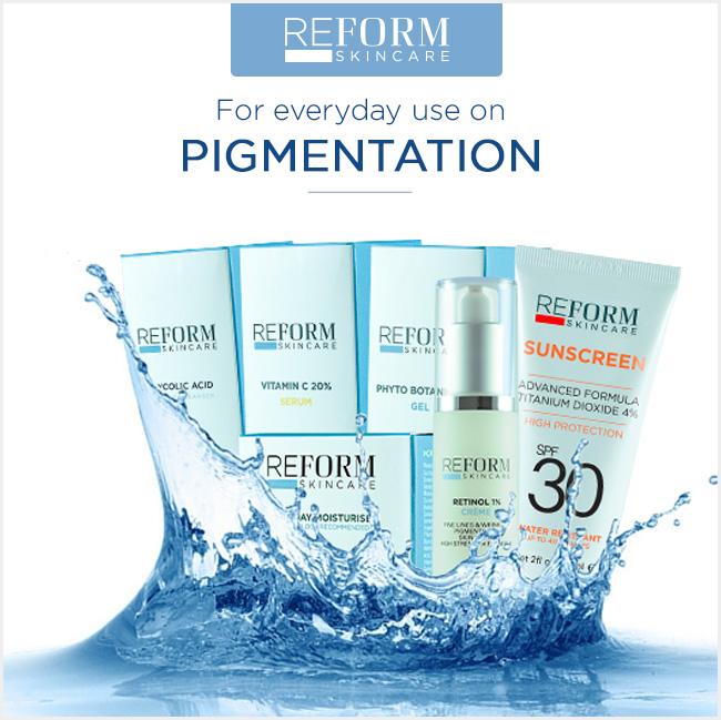 reform skincare pigmentation