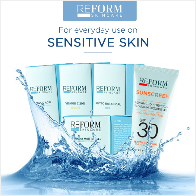 reform skincare sensitive skin